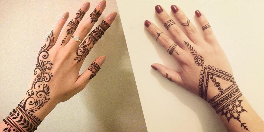 Simple Mehendi Designs For Brides Who Aren't Henna Fans