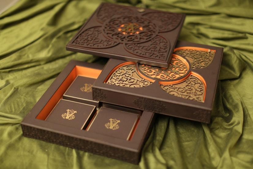 Wedding Invitation Card in Box