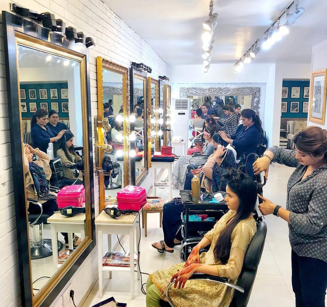 Makeup Charges from Saloon