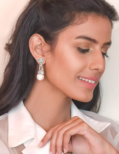 Diamond Earrings by Esfir