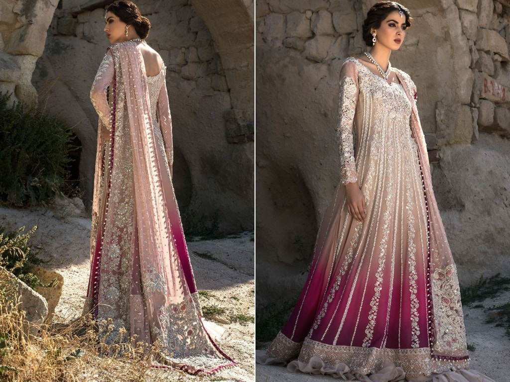 Gradient Gown for Bridals by Zainab Chottani