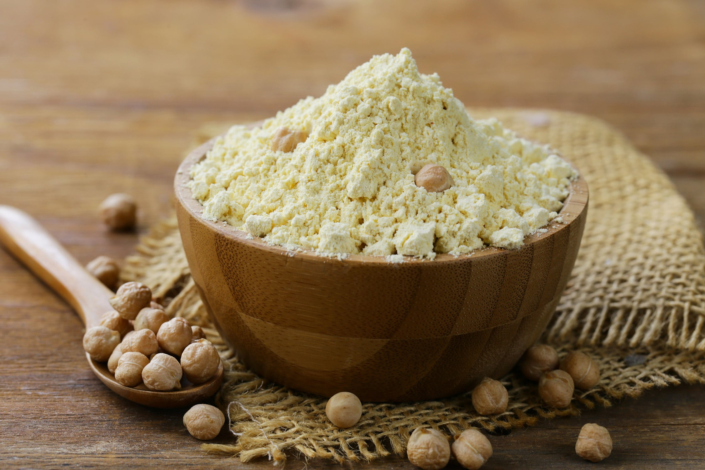 Gram Flour (Basin) is good for skin