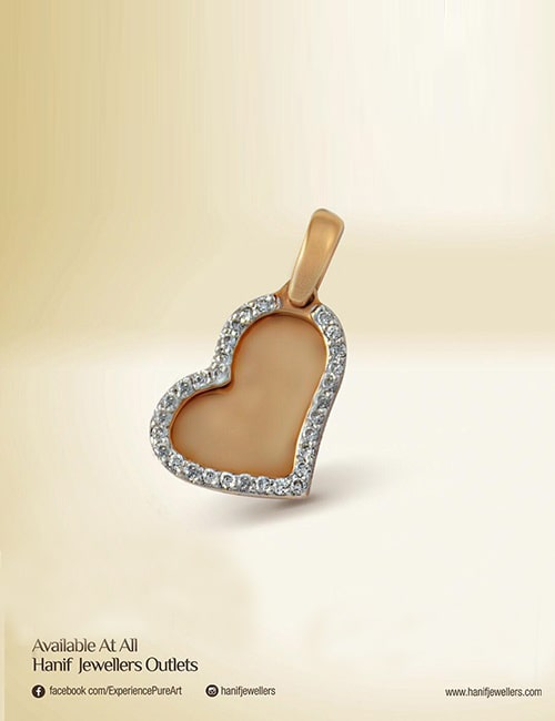 Heart Pendant by Hanif Jewelry