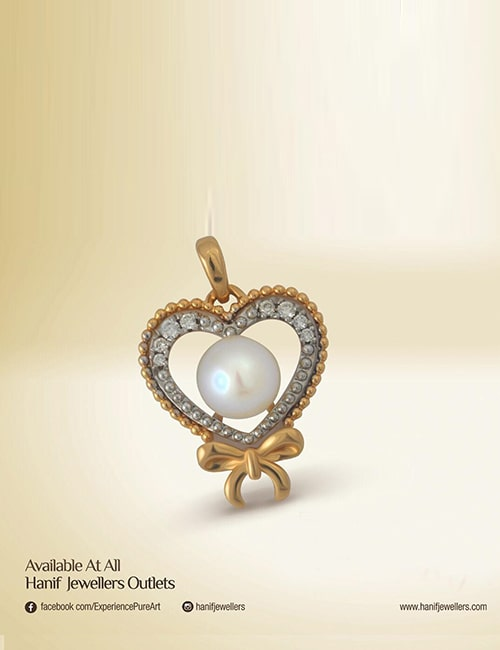 Hanif Jewelry pandent for this valentine