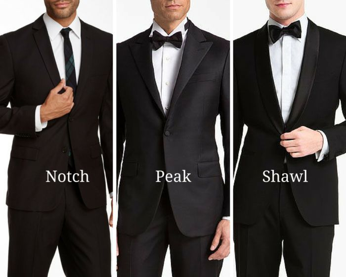 Lapels Design of suit for Gents for their wedding