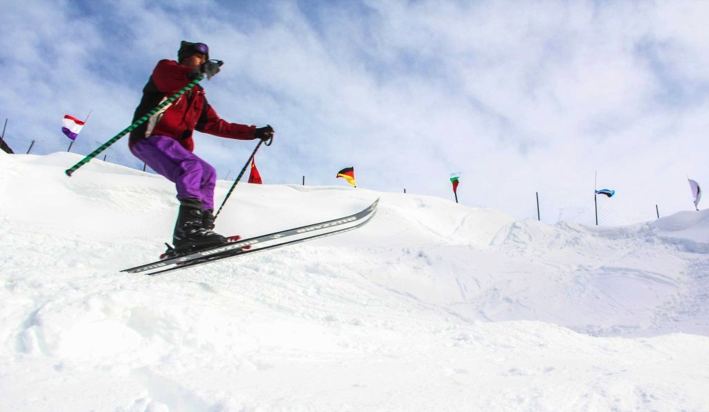 3. Skiing at Malam Jabba, Sawat Valley