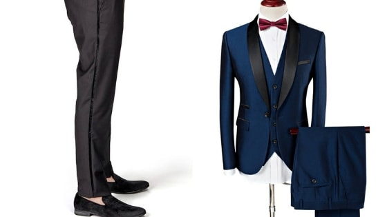 Tuxedo Trouser and suit for Grooms