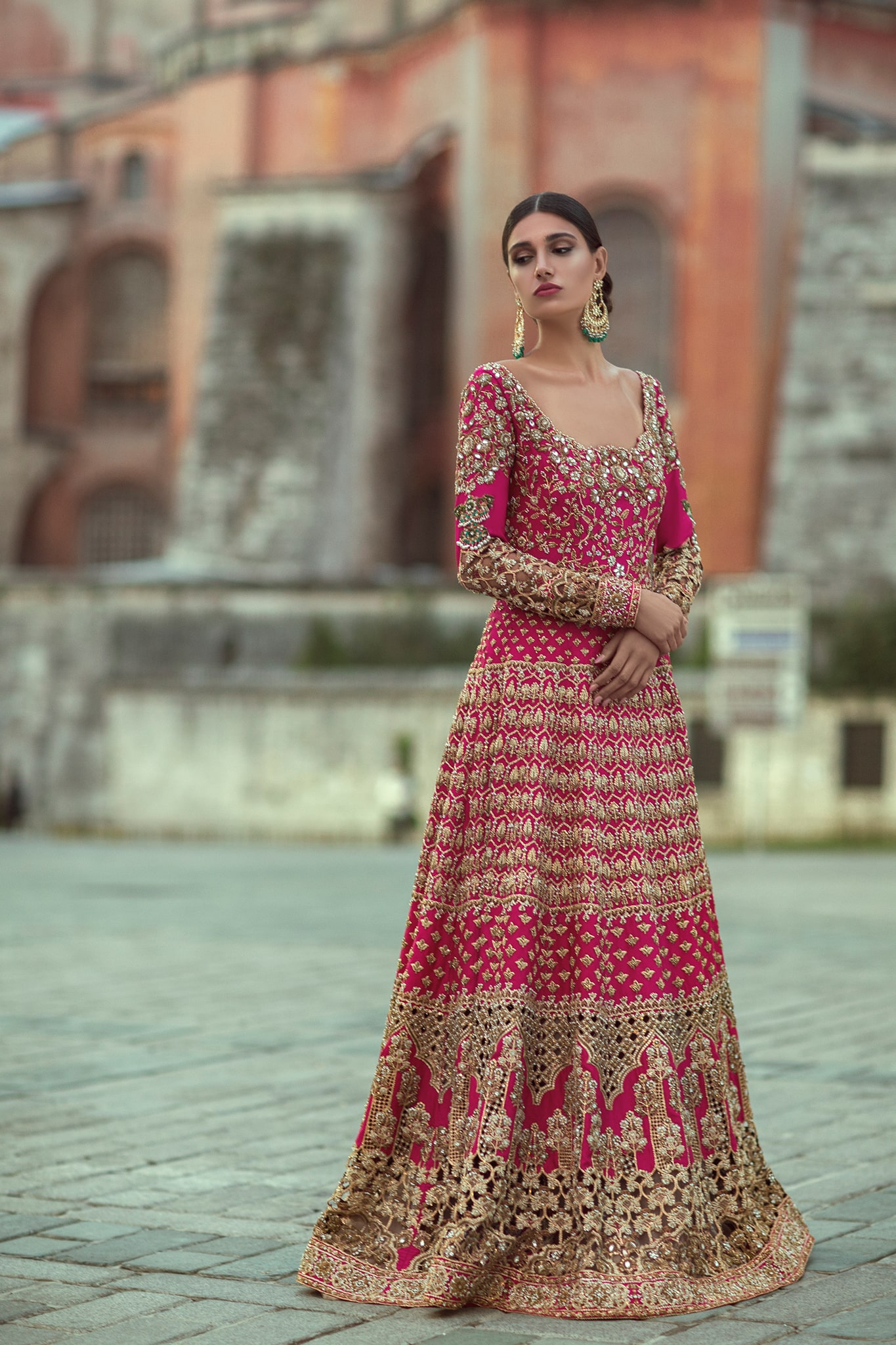Bridal Dresses in Pink
