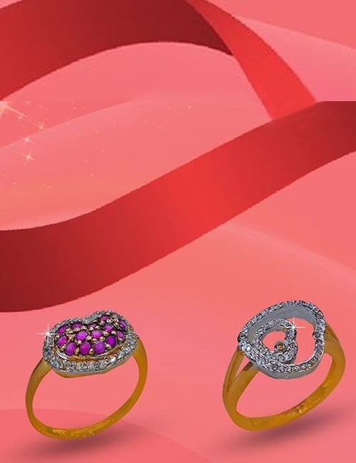 Diamond Gold Ring by Waseem Jewelry