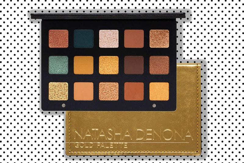 5.Natasha Denona Gold 15-Pan Eyeshadow Palette