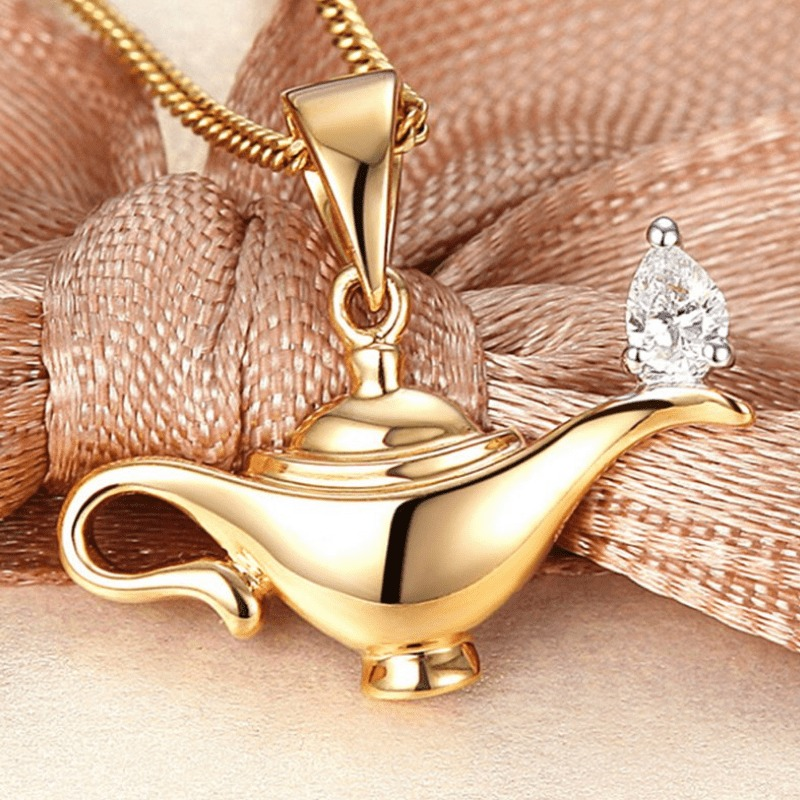 4.The Aladdin's Lamp to Make Her Wish Come True
