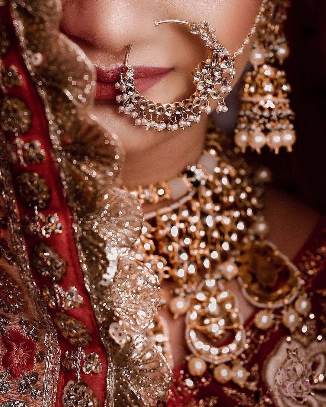 Bridal nath style
