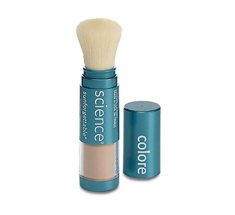 6.Colorescience Sunforgettable Brush-On Sunscreen SPF 50