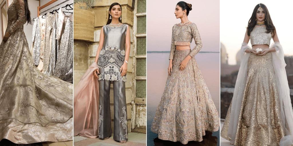 Bridal Dress with Glitter