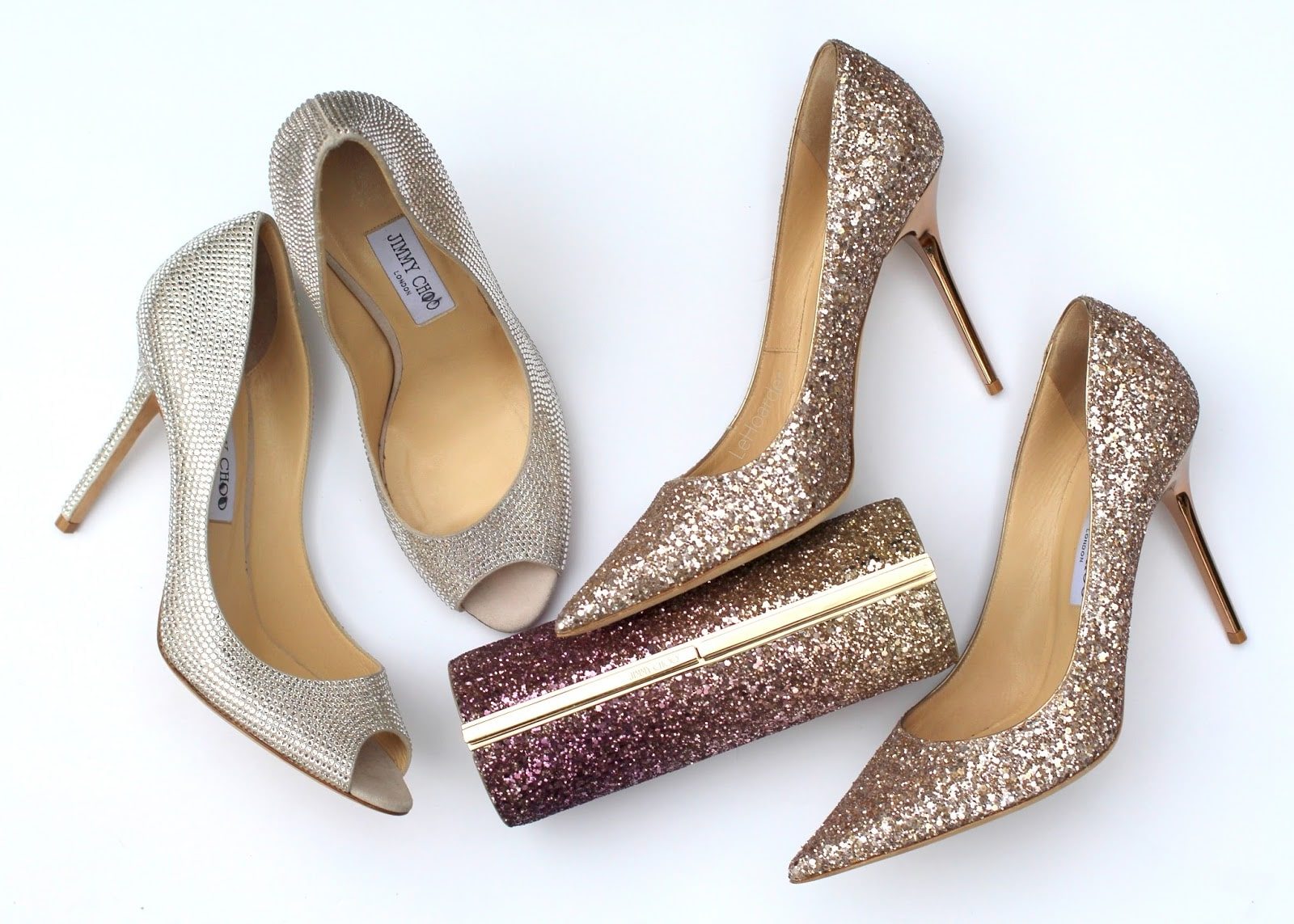 Bridal Heels with Glitter