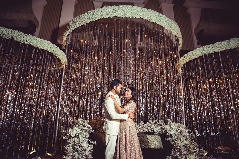 Glitter Decor for Weddings
