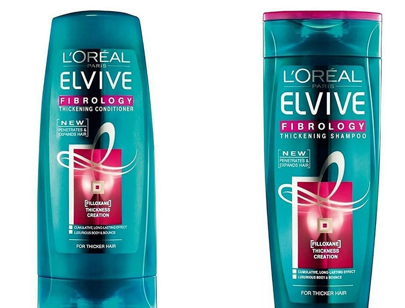 1.	L'Oreal Paris Elvive Fibrology Shampoo