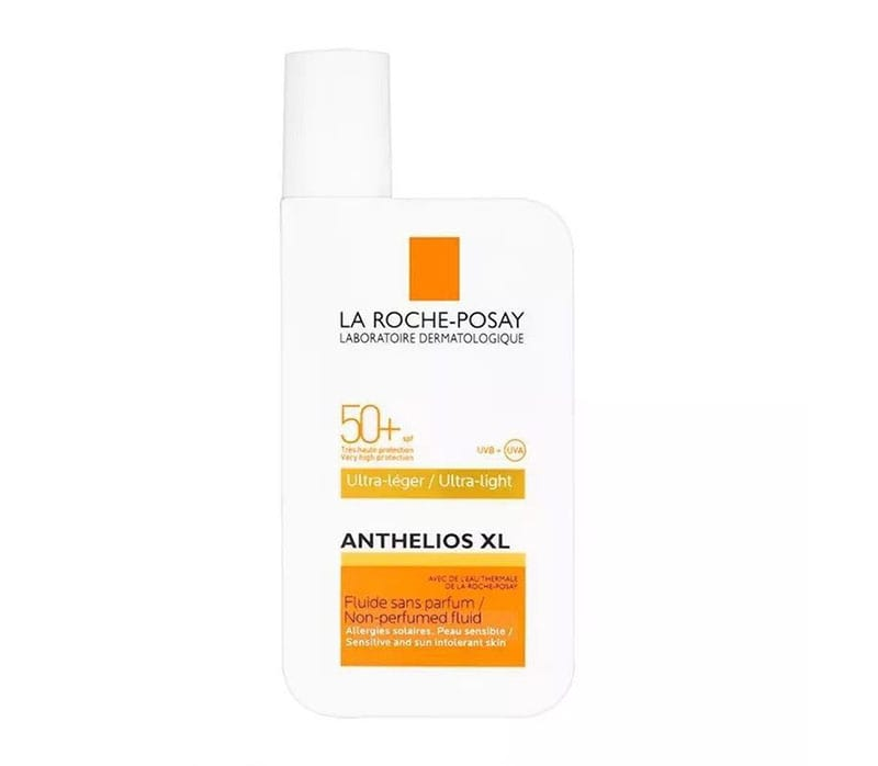 9.La Roche-Posay Anthelios 50 Tinted Mineral Ultra Fluid Sunscreen