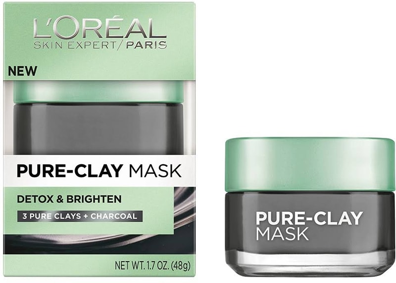 8.L'oreal Detox And Brighten Clay Mask