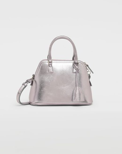 5.5AC Metallized Leather Bag MAISON MARGIELA