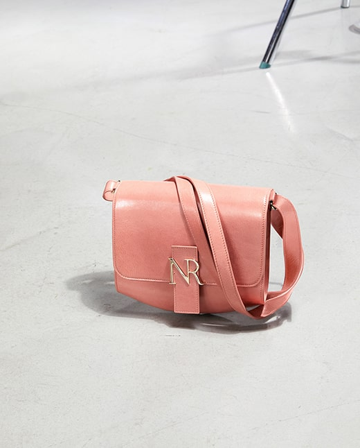 19.Medium Bag In Goatskin NINA RICCI
