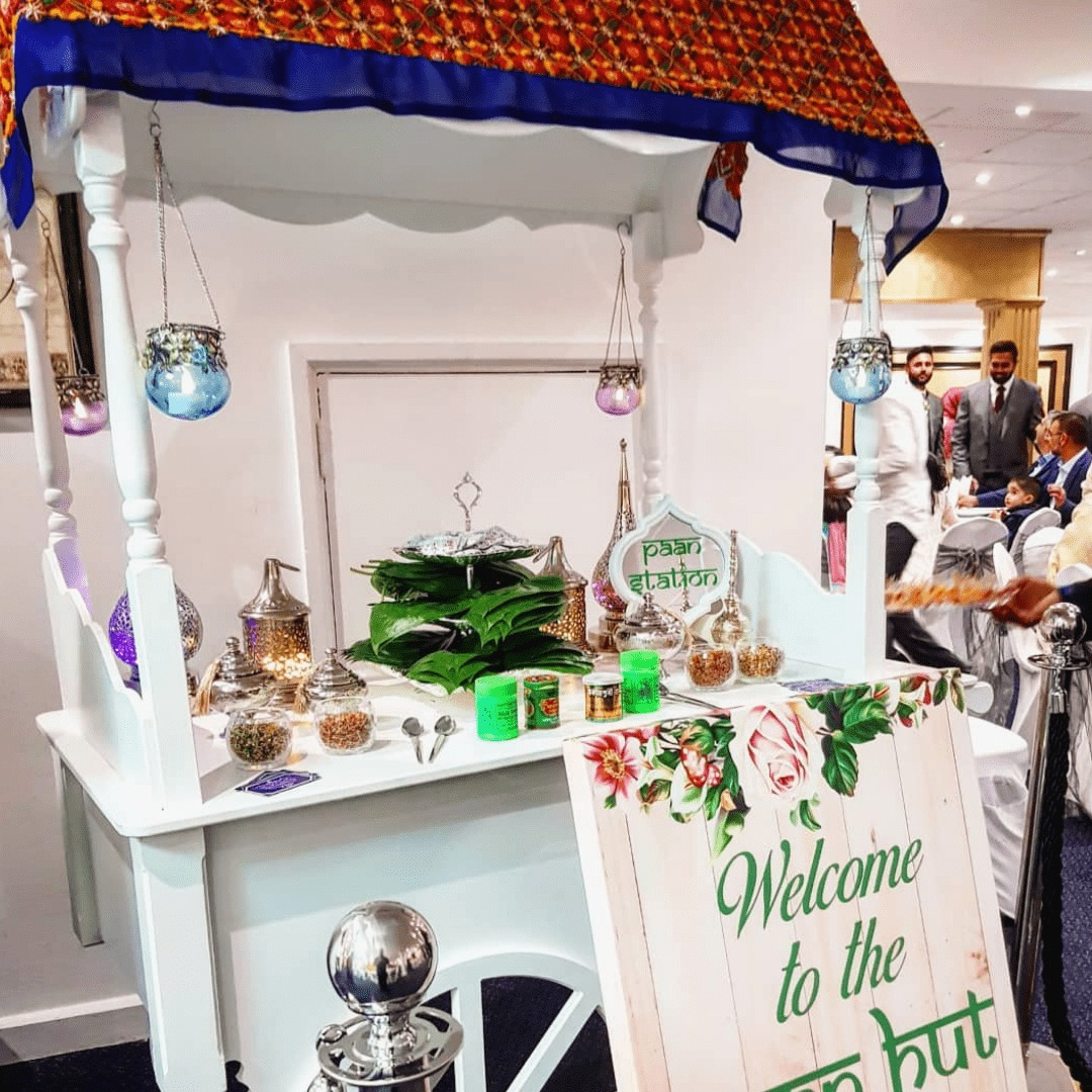 Paan Stall in Wedding Ceremony