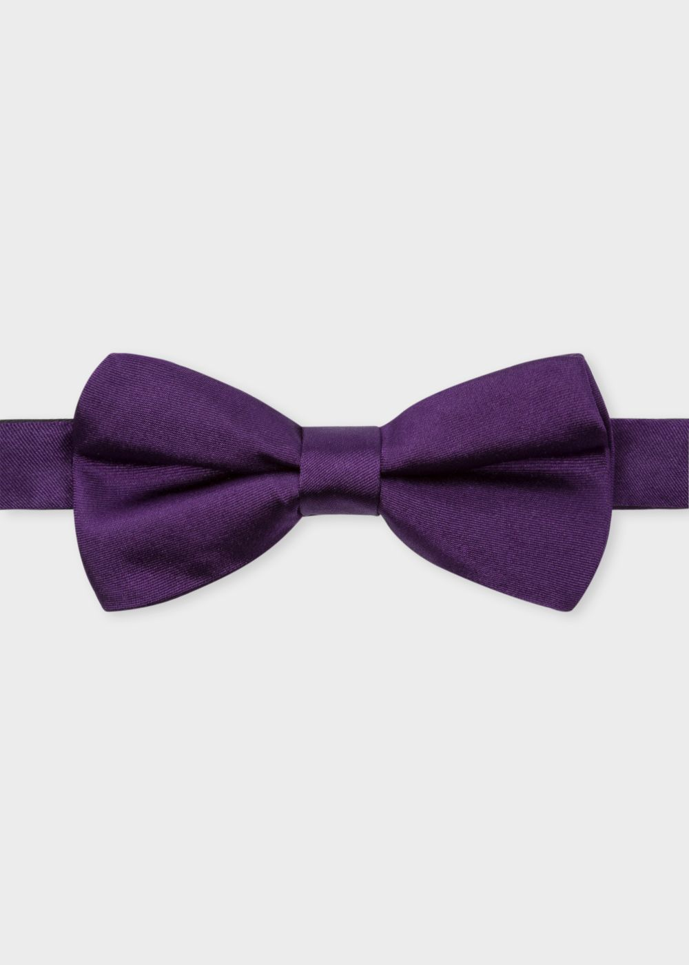Paul Smith Purple Silk Bow Tie