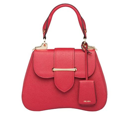 13.Sidonie Medium Saffiano Bag PRADA