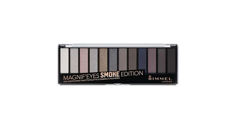 8.	Rimmel Magnif'eyes Eye Contouring Palette In Smokey Edition