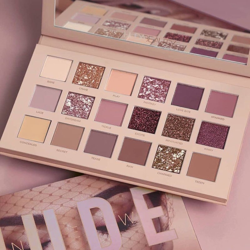 1.	The Nude Eyeshadow Palette by Huda Beauty