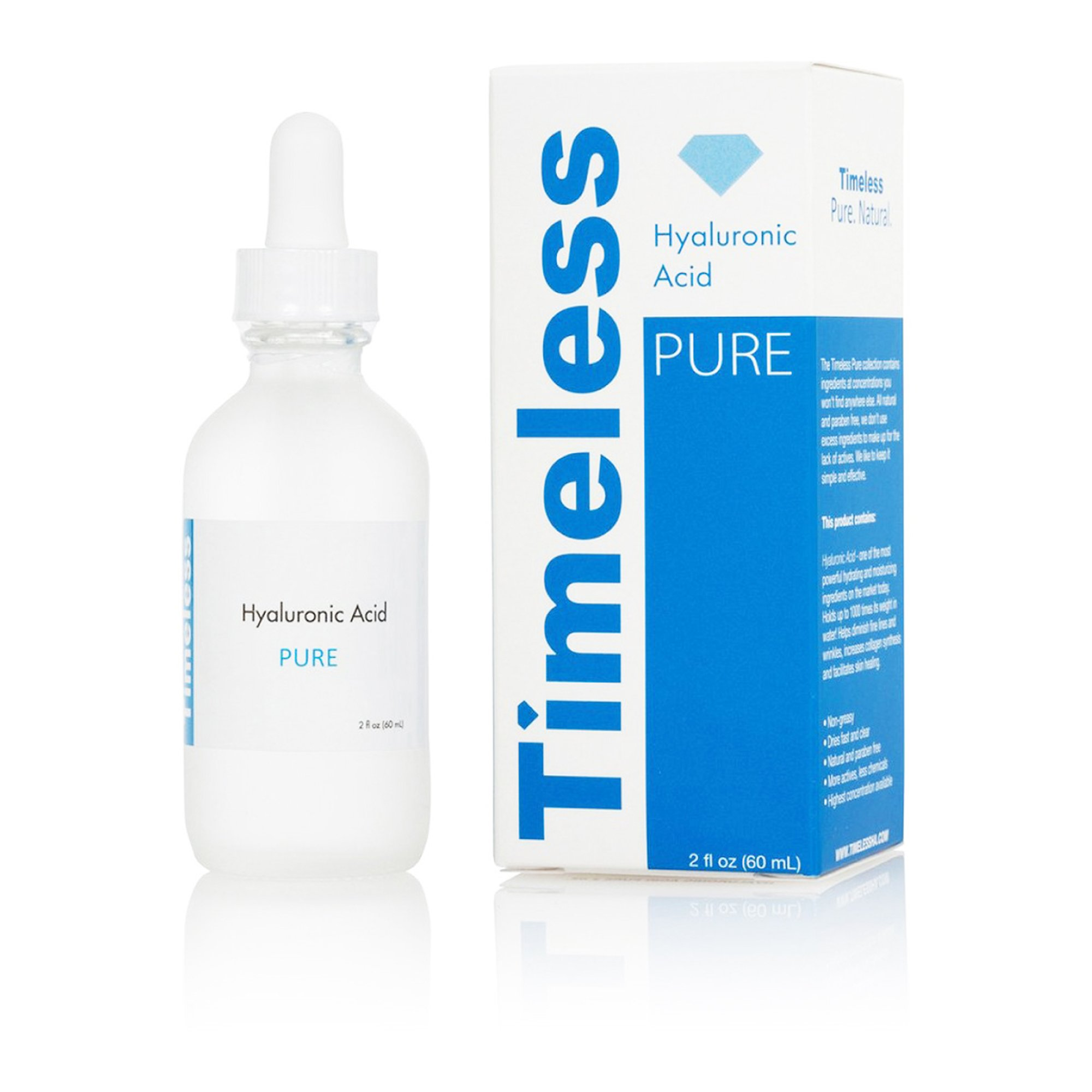 Timeless Hyaluronic Acid Serum 100% Pure (2)