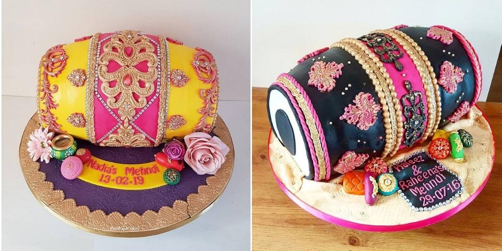 The Dholki Cake