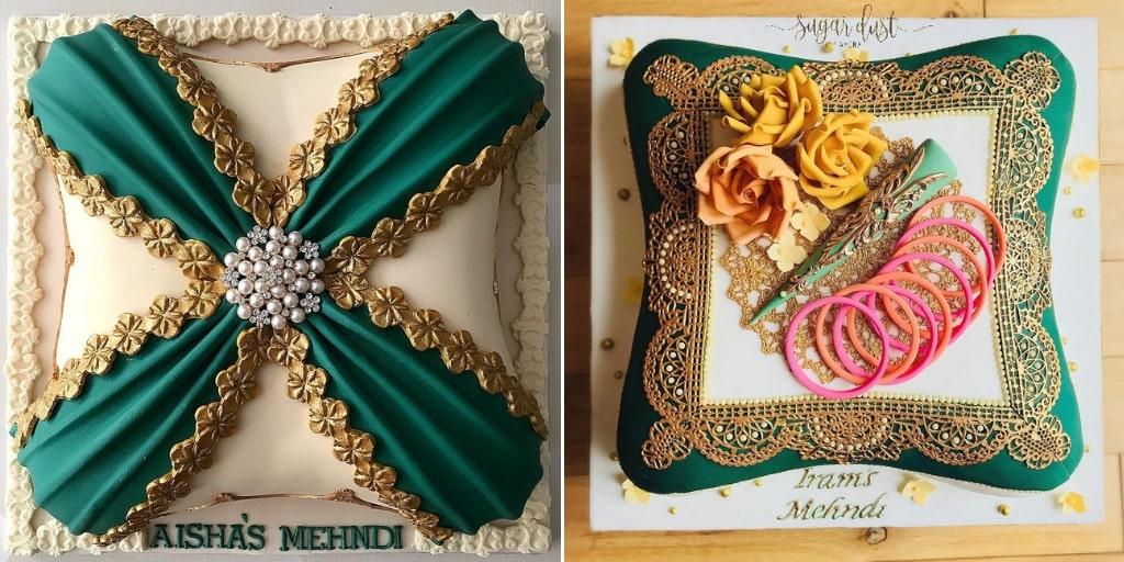 Cushion Cakes