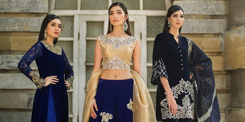 Pakistani Celebrities Spotted In Elegant Zainab Chottani Ensembles