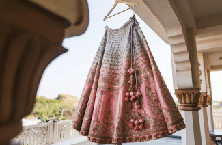 Unconventional Lehenga Colors We Recently Spotted On Real Brides