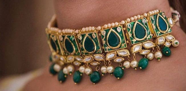 Beautiful Meenakari Jewelry Inspiration For Brides