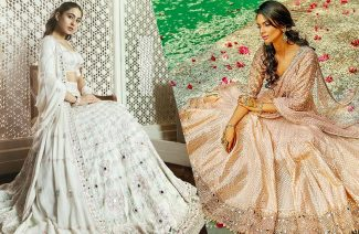 Mirror Work Motifs and Wedding Wear Is the Latest Fashion Chic