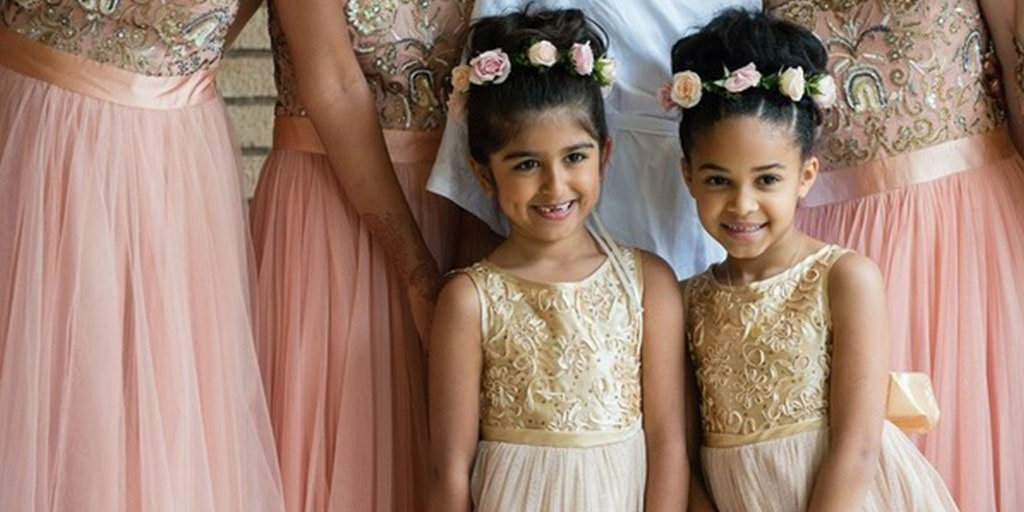 Adorable Flower Girls That Look Like Miniature Divas In Their Dresses!