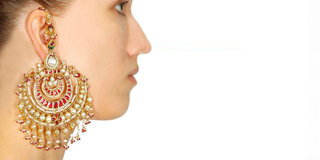 Designer Chandbali Earrings To Give You Huge Bridal Jewelry Goals