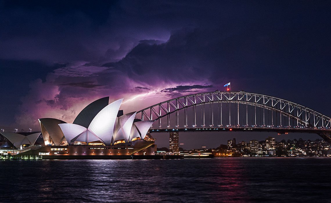 Opera House in Australia best place to plan your trip on honeymoon