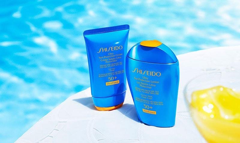1. Shiseido Ultimate Sun Protection Spray SPF 50+