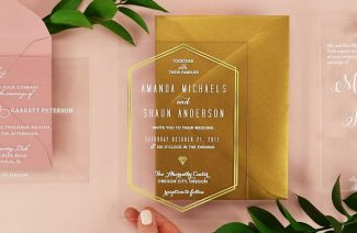 Acrylic Invitations; the Latest Tasteful, & Magical Trend in The Wedding Biz