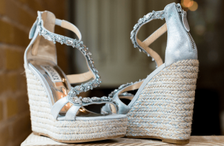 Bridal Wedges Might Be Just the Trend You Need for A Summer Wedding
