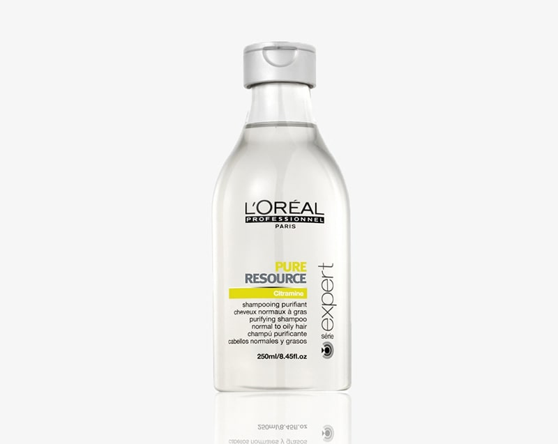 1.	L'Oreal Paris' Professionnel Serie Expert Pure Resource Shampoo For Oily Hair
