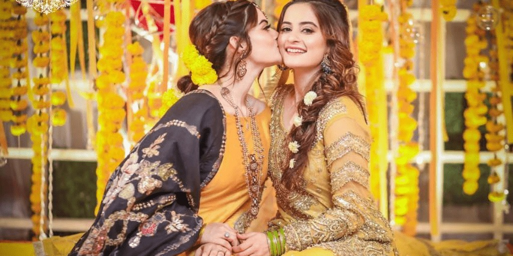 In Pictures; The Beauty of Traditional Yellow Bridal Dresses