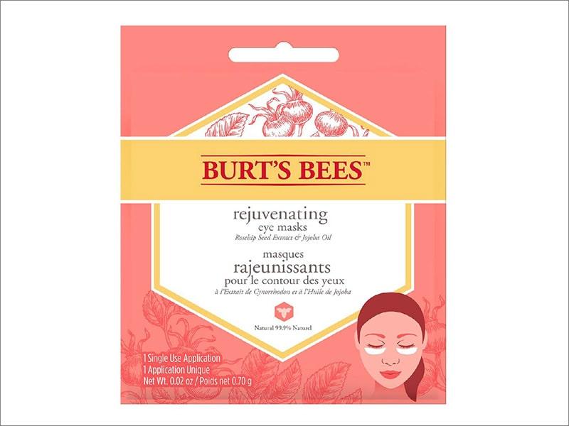 10.Burt's Bees Rejuvenating Eye Masks
