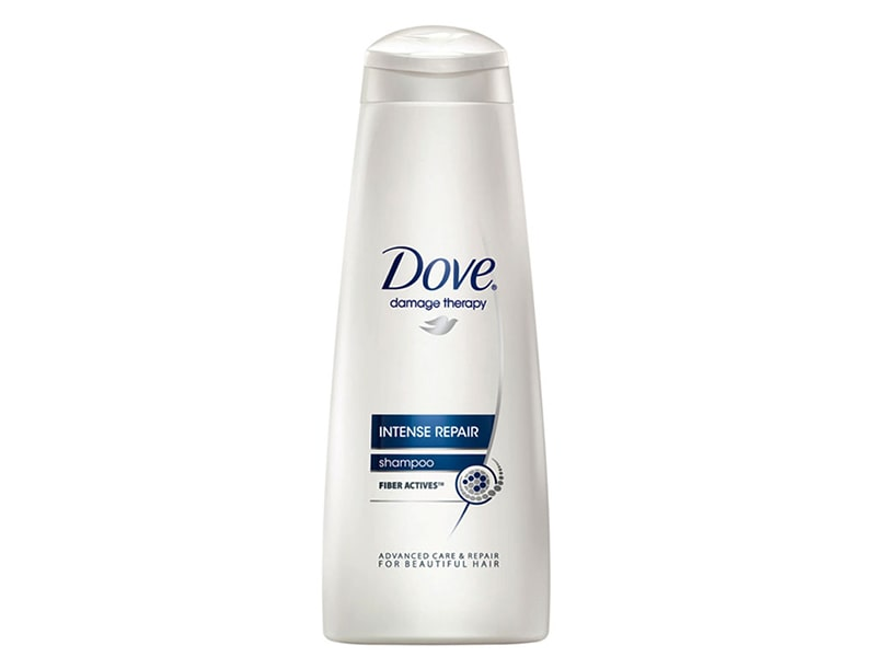 4.	Dove Hair Therapy Intense Repair Shampoo