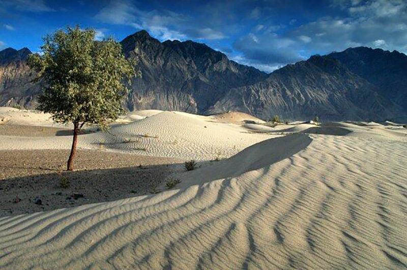 Katpana Desert, Skardu