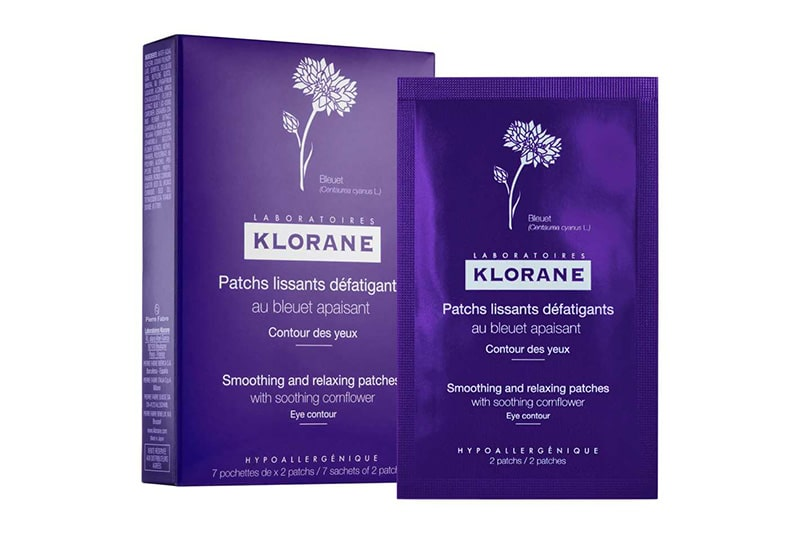 2.	Klorane Smoothing And Relaxing Patches With Soothing Corn Flour