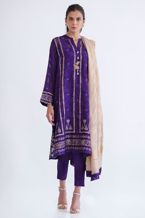 BLOCK PRINTED LONG SHIRT